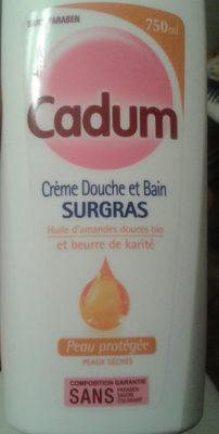 Crème douche et bain surgras - Produit