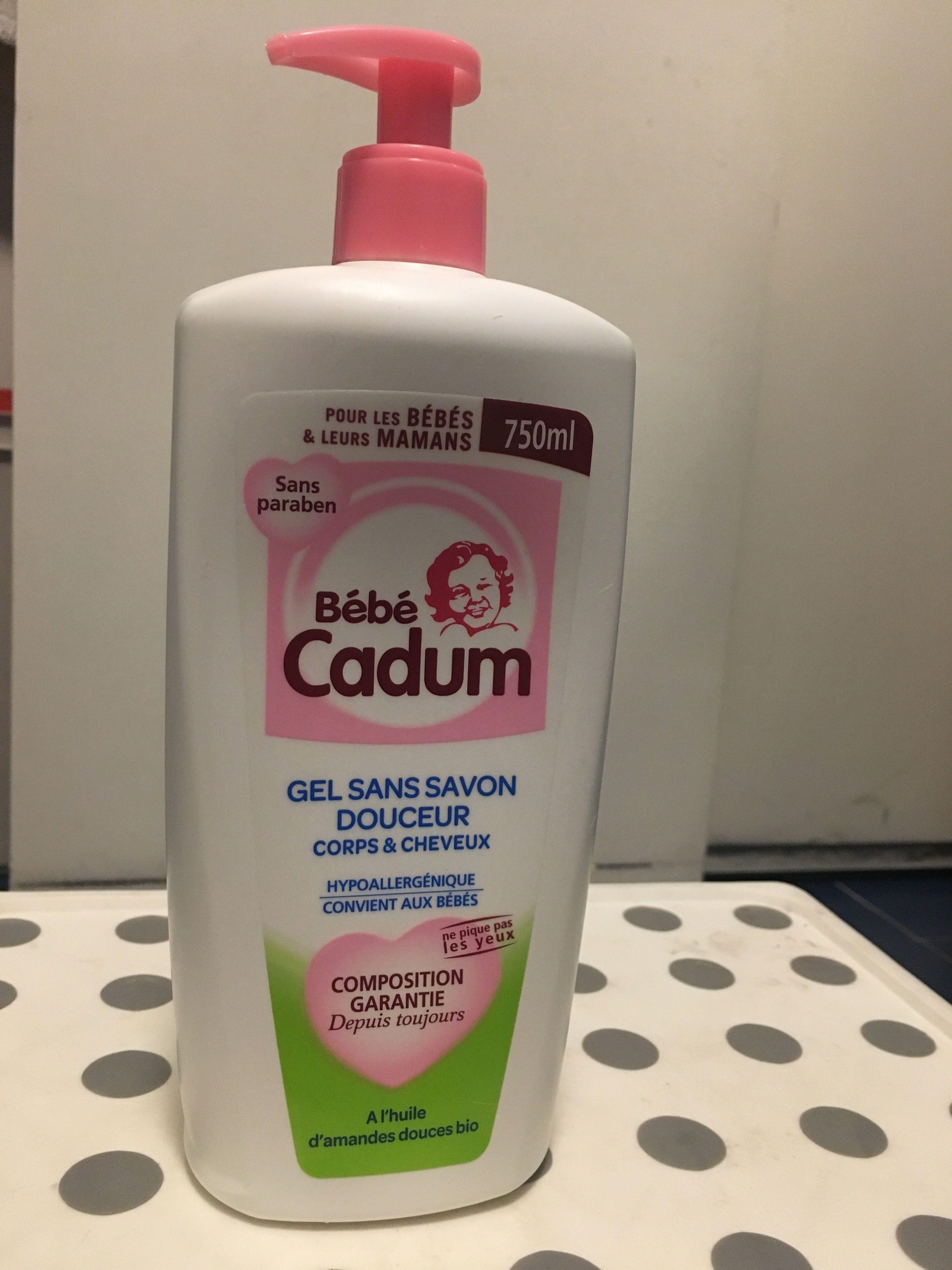 Gel sans savon corps et cheveux - Product - fr