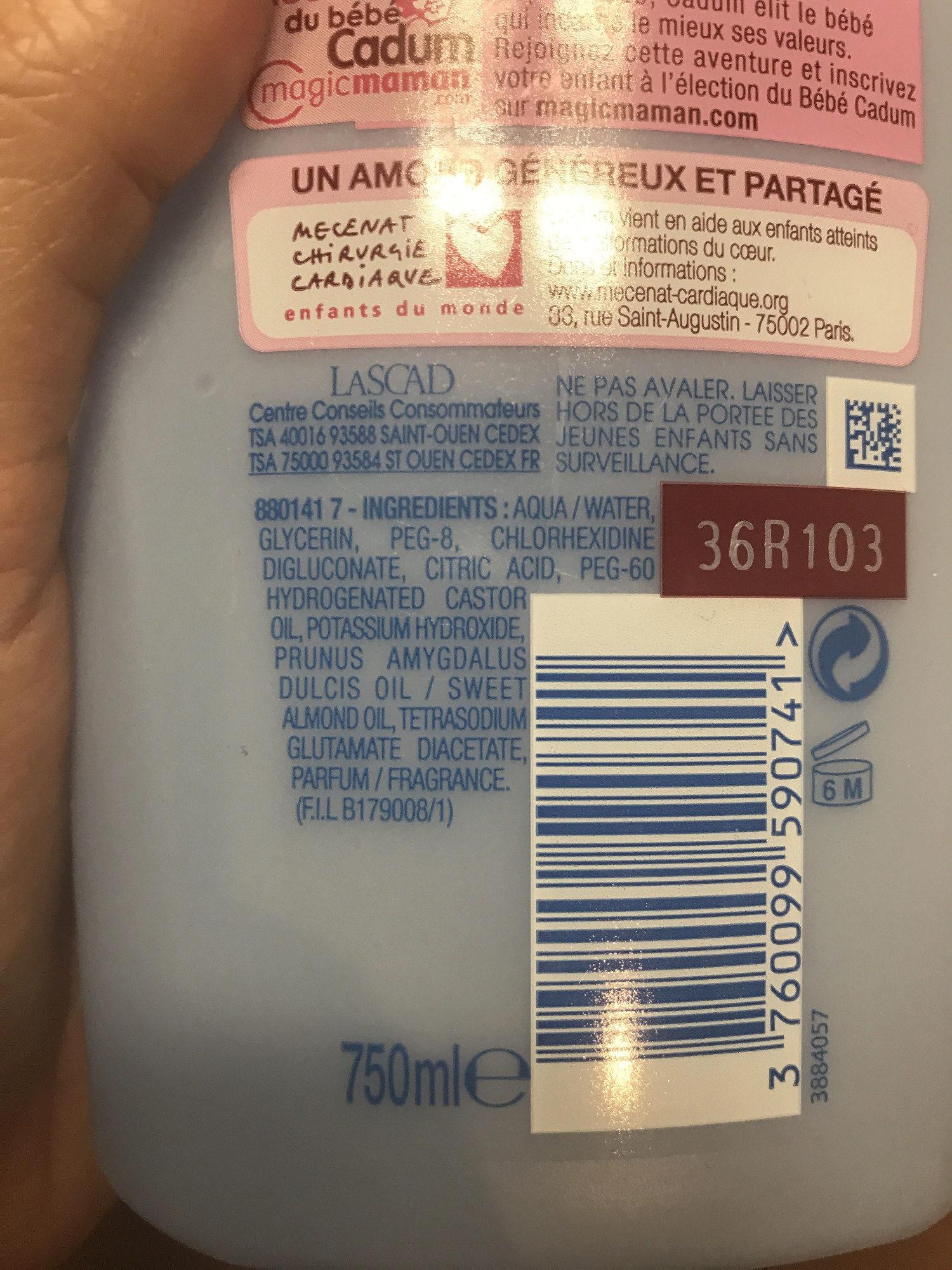Eau nettoyante à l'huile d'amande douce - Produit - fr