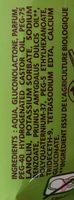 Lingettes ultra-douces hypoallergéniques - Ingredients