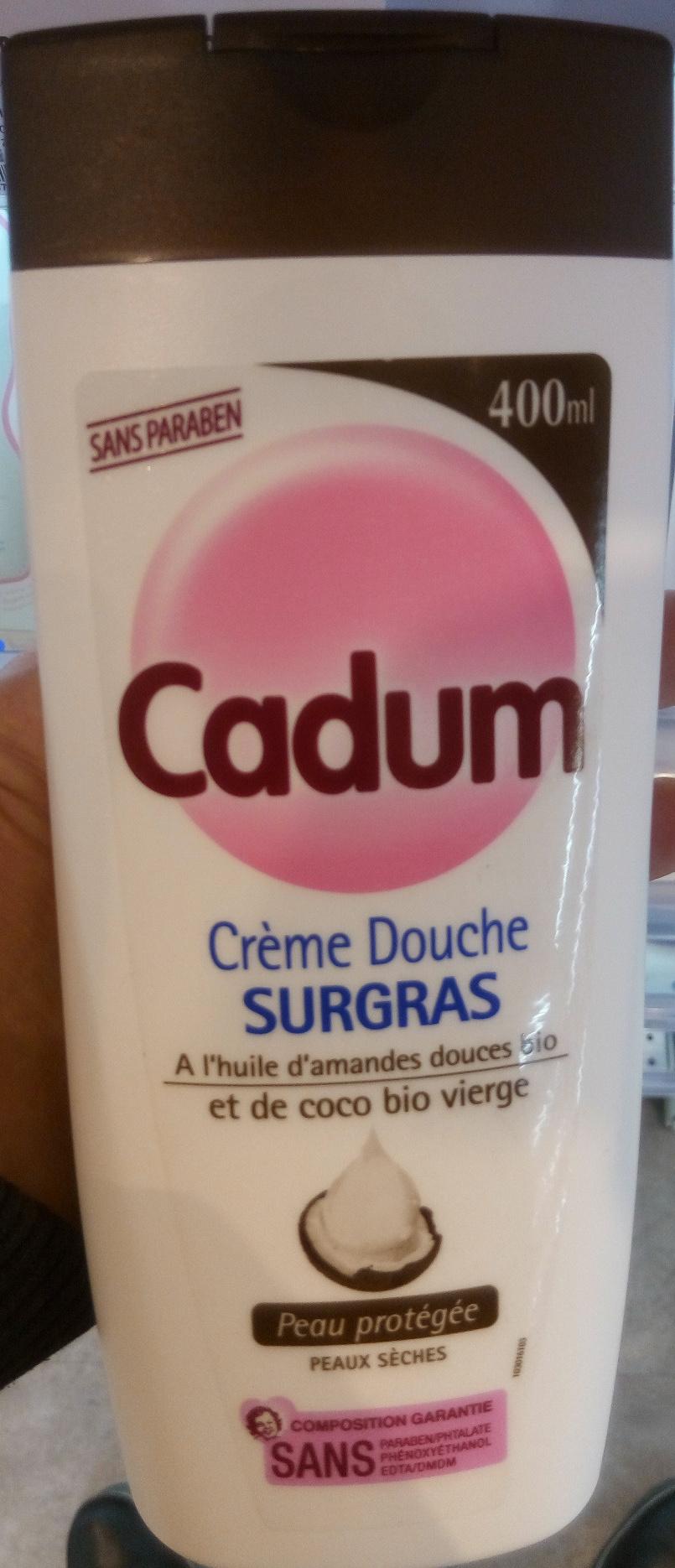 Crème douche surgras a l'huile d'amande douce bio et de coco bio vierge - Product - fr