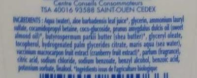 Gel surgras Toilette intime - Ingrédients
