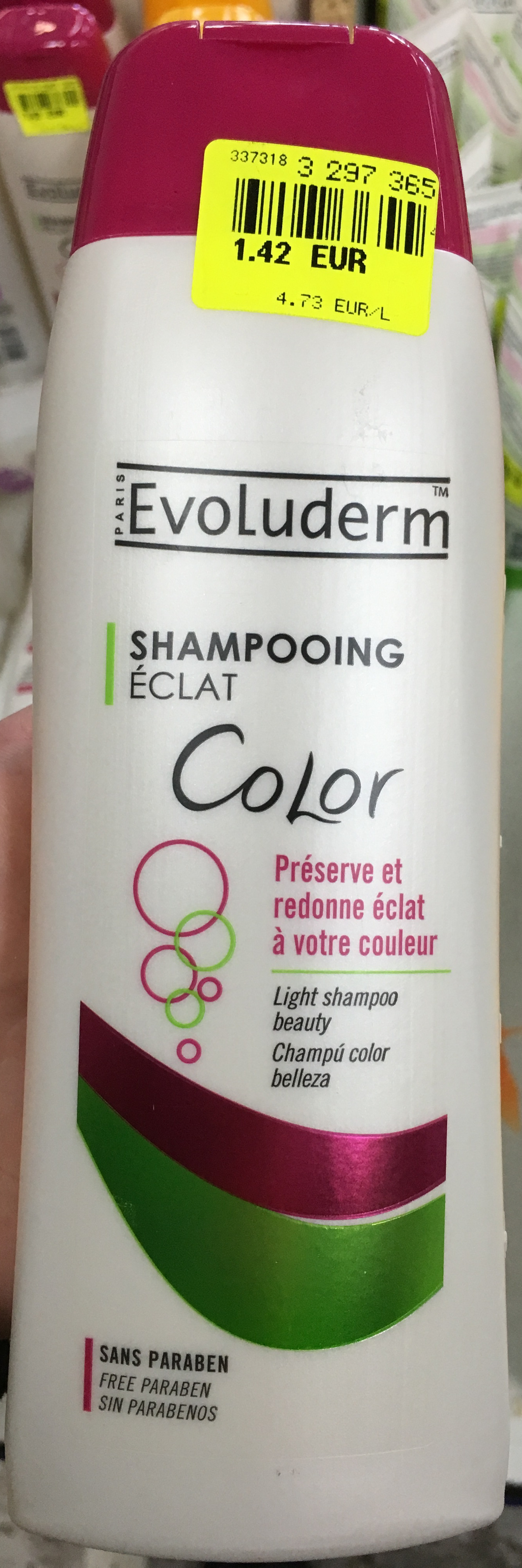 Shampooing éclat Color - Product