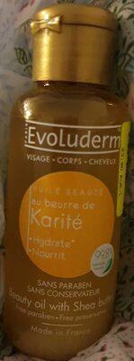 Huile beauté au beurre de karité - Product