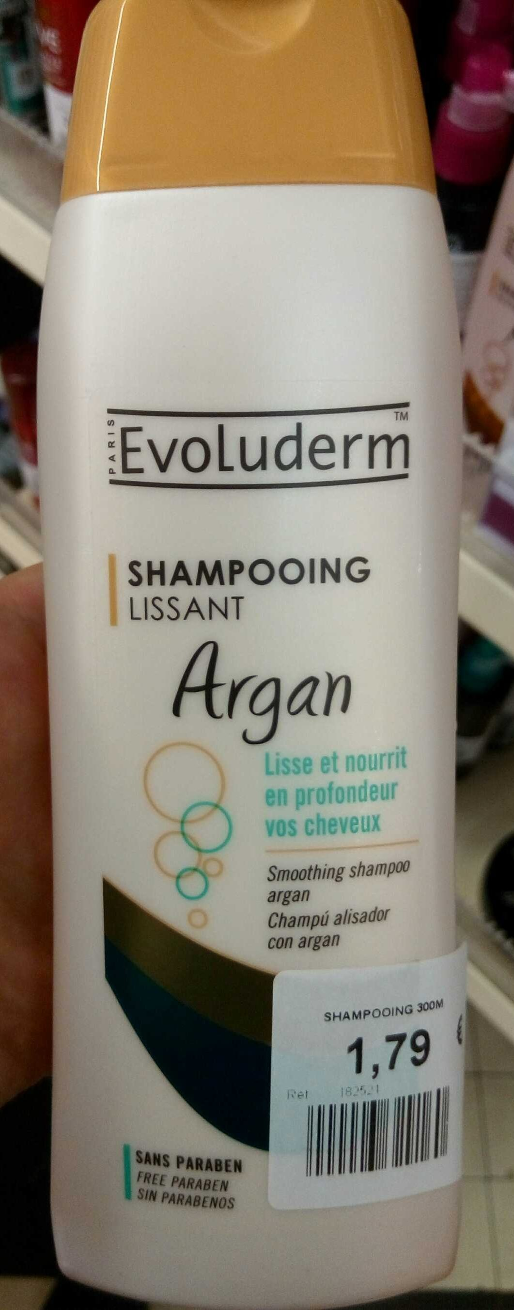 Shampooing lissant Argan - Product - fr