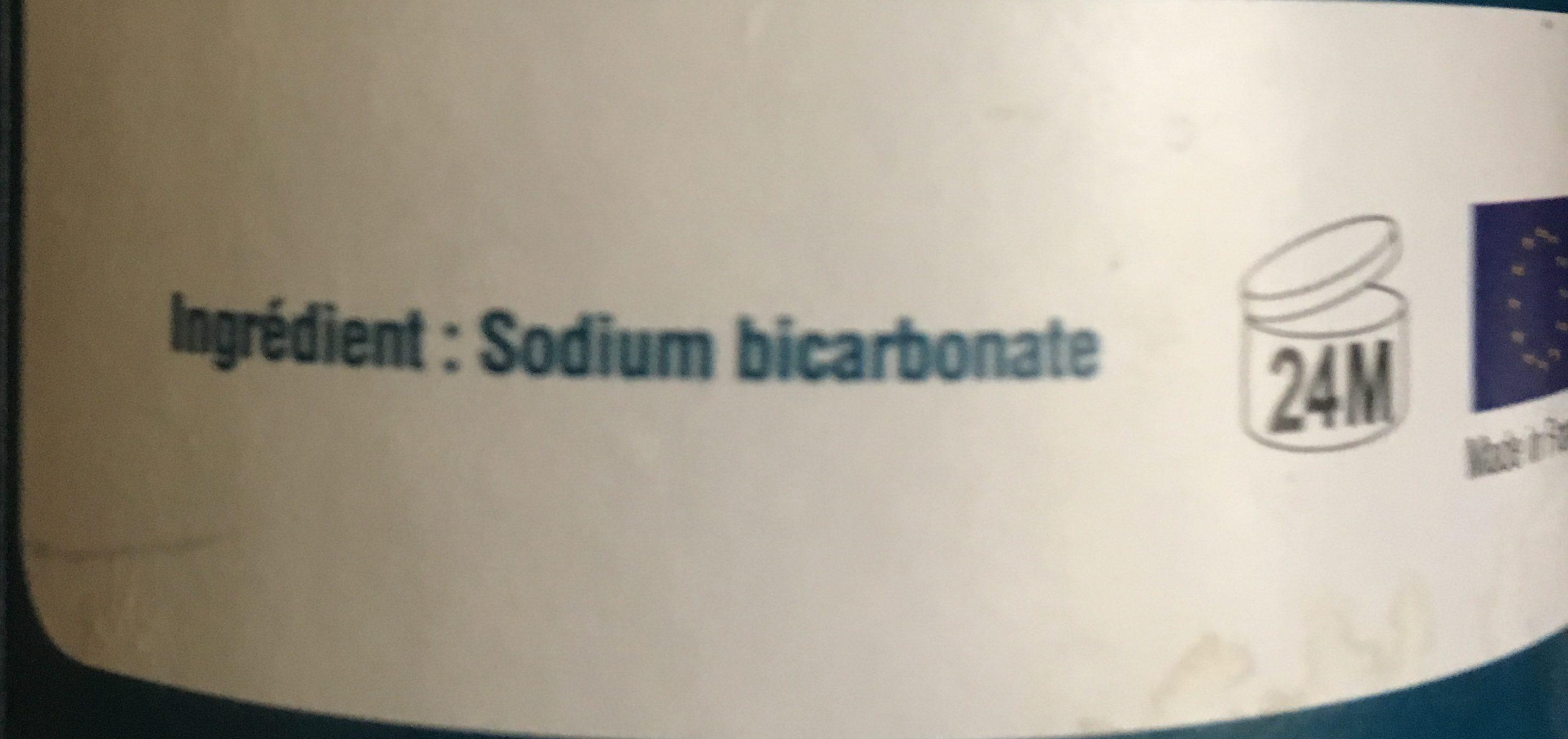 Bicarbonate de soude cosmétique 500g - Ingrédients - fr