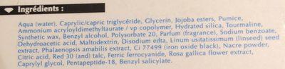 Gemology Perle De Tendresse 50 ML - Ingredients - fr