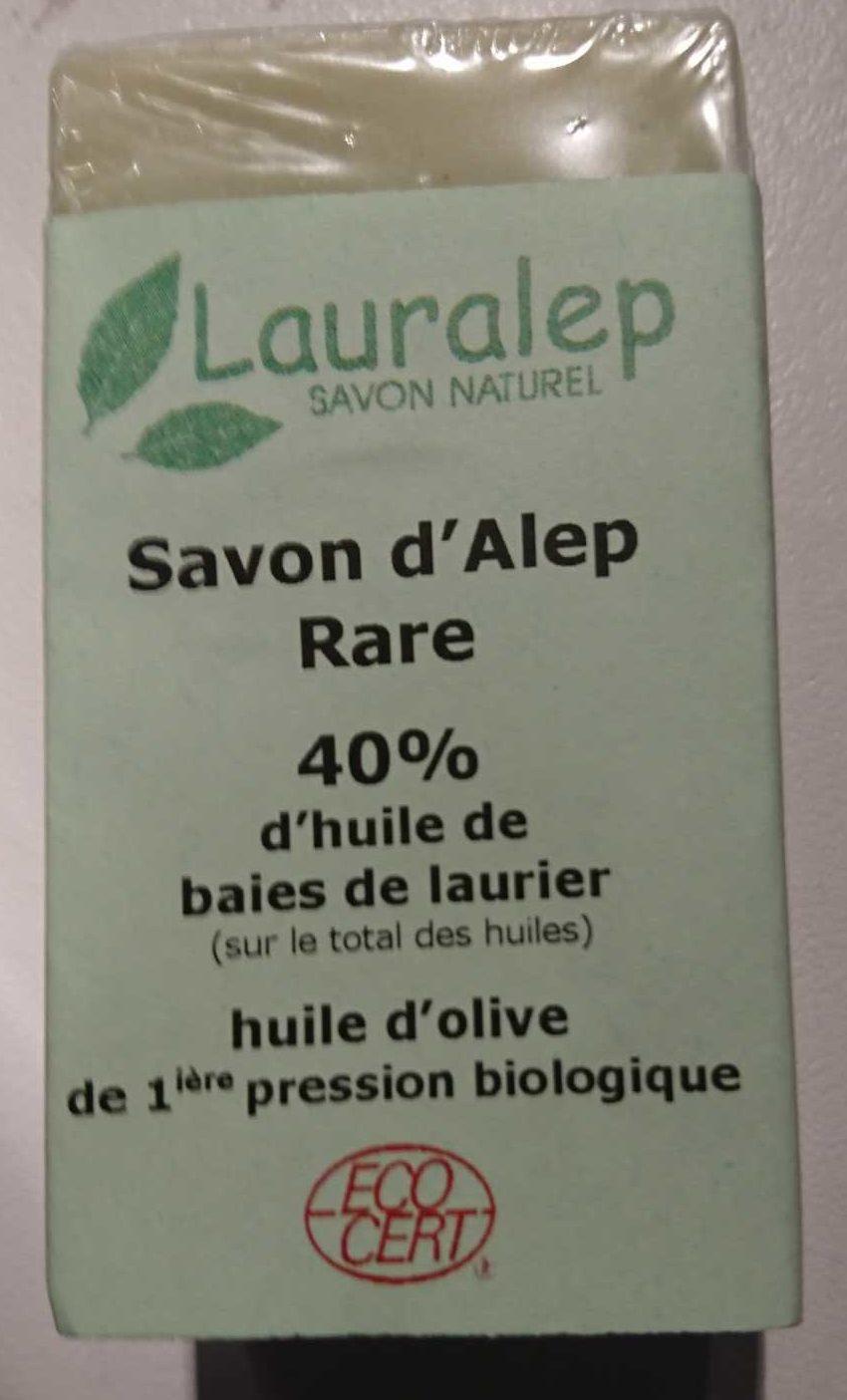 Savon d'alep rare 40% - Product