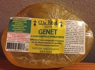 Savon Genet à l'huile essentielle d'Helichryse - Product - fr