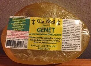 Savon Genet à l'huile essentielle d'Helichryse - Produit - fr