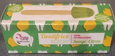 Dentifrice solide - Sauge - Citron - Product - fr