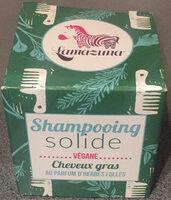Shampoing solide - cheveux gras - au parfum d'herbes folles - Produit - fr