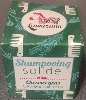 Shampoing solide - cheveux gras - au parfum d'herbes folles - Product