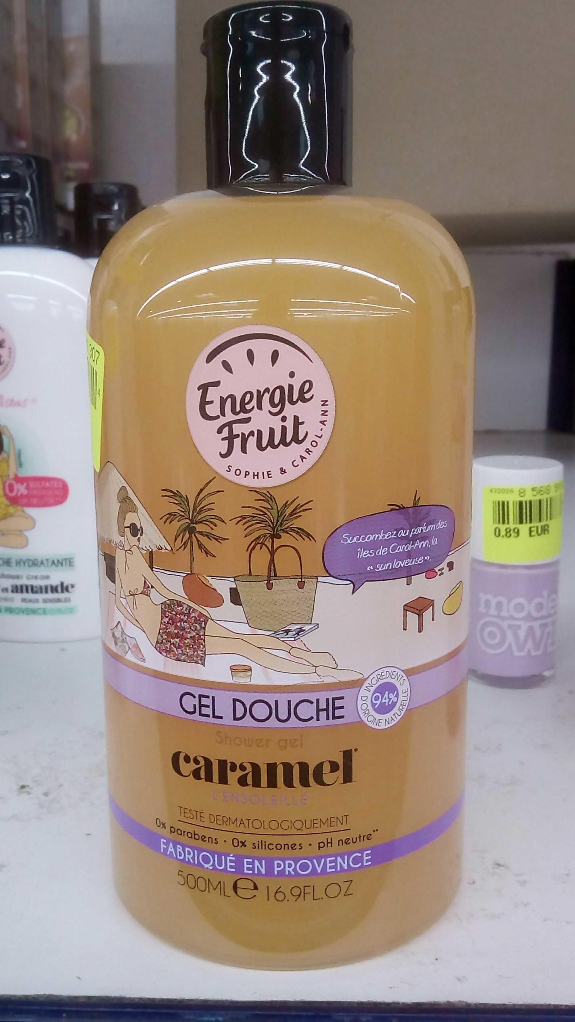 Gel douche caramel - Produit - fr