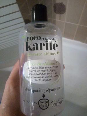 Coco et Huile de Karité shampoing réparateur - Produit