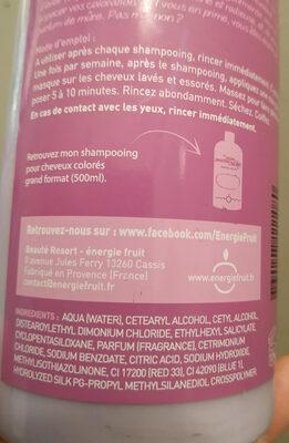Mure et protéine de soie - Ingrédients - fr