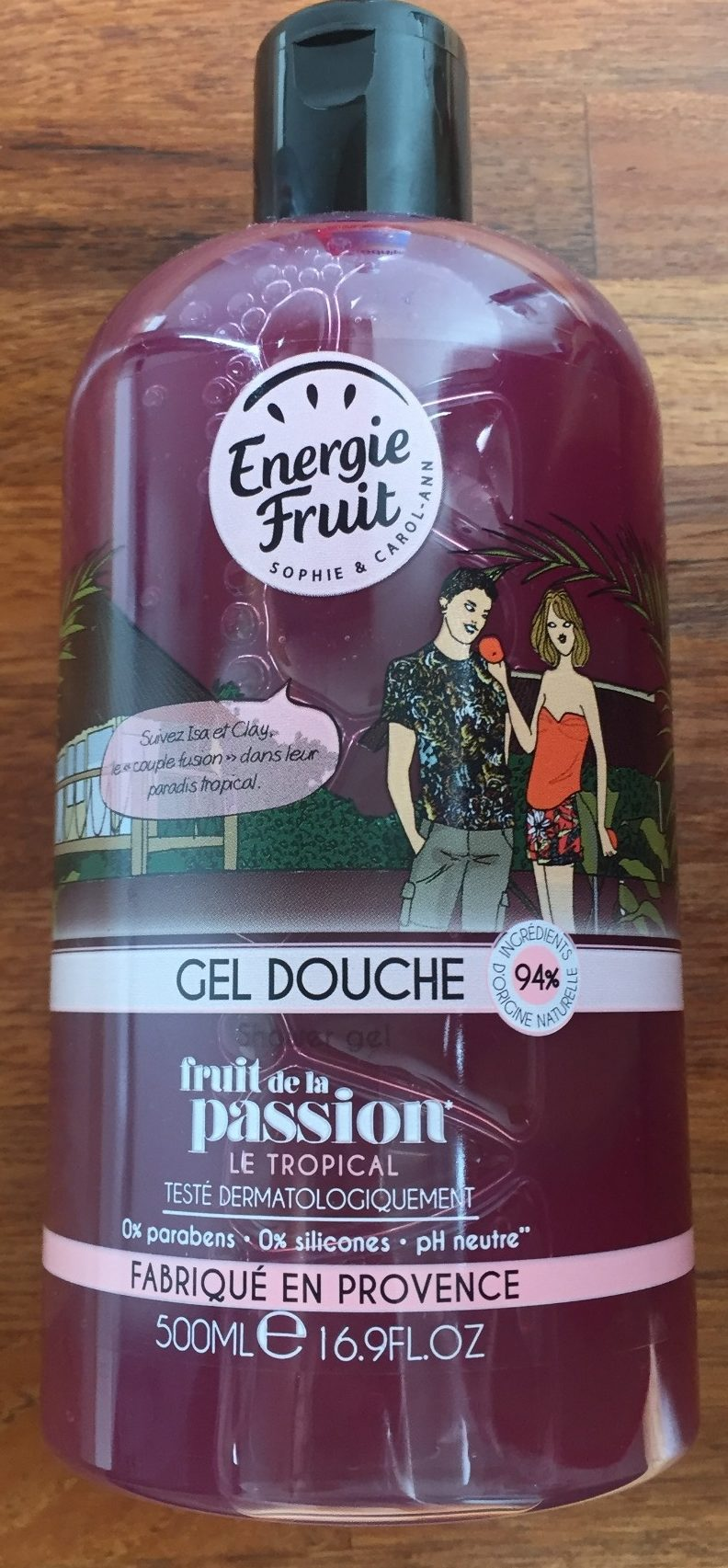 Gel Douche Fruit de la passion - Product - fr