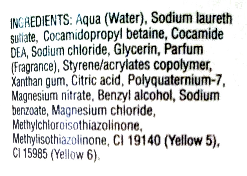 - Ingredients - fr