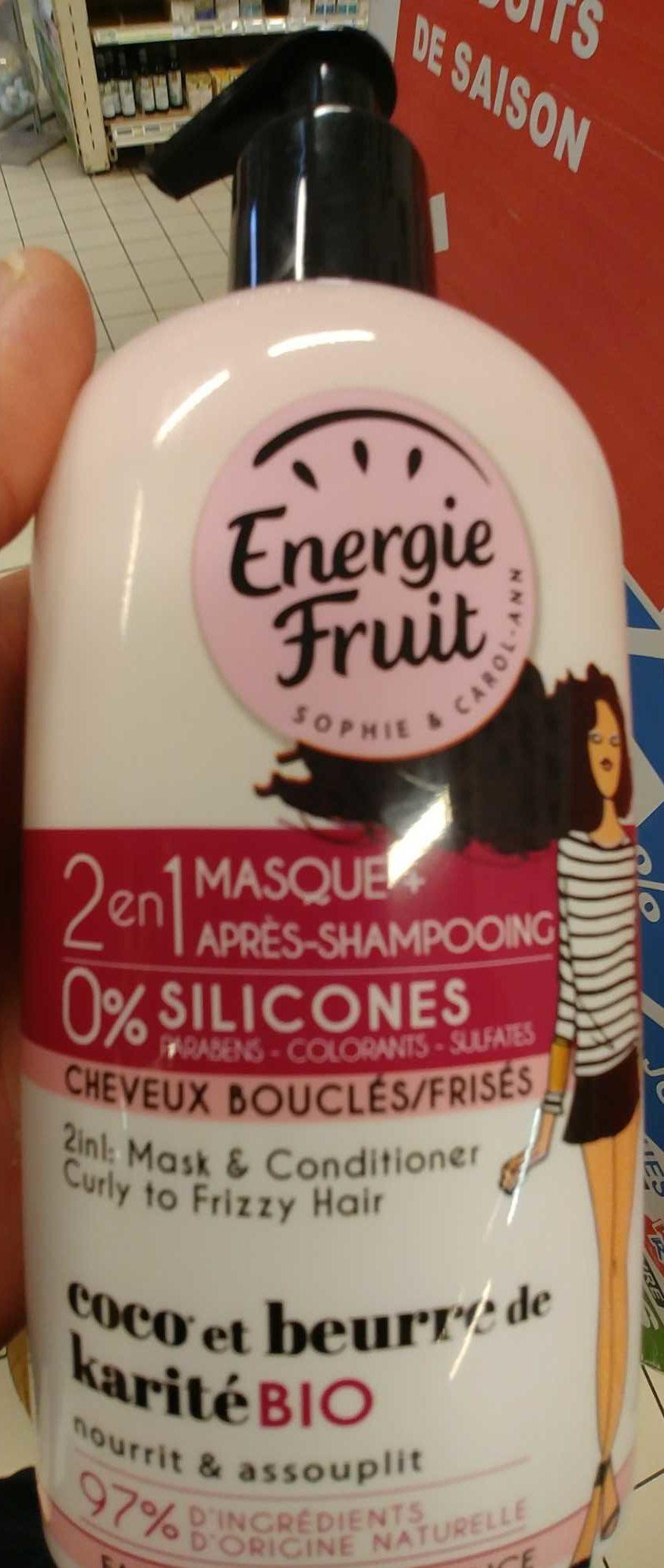 Energie fruit - Produit