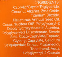Spray solaire Alaric maris - Ingredients