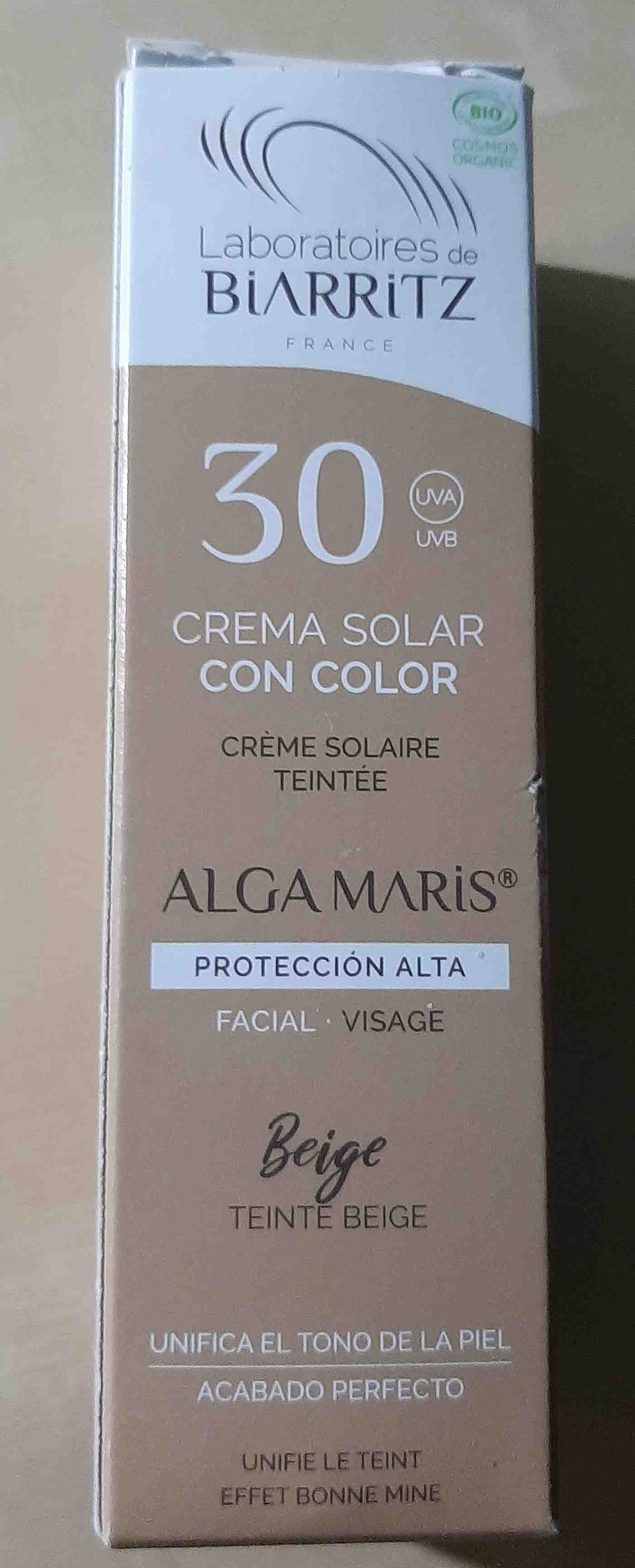 Crema solar con color. Proteccion solar. - Product - en