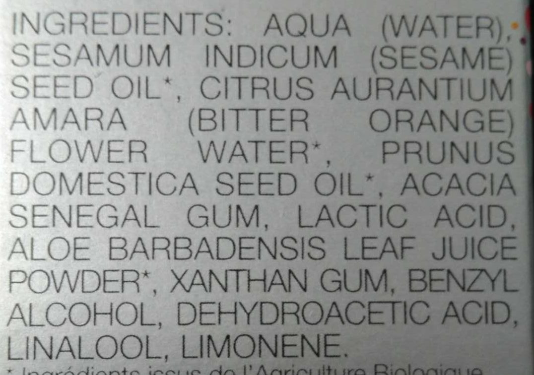 Le Bienfaiteur - Ingredients - fr