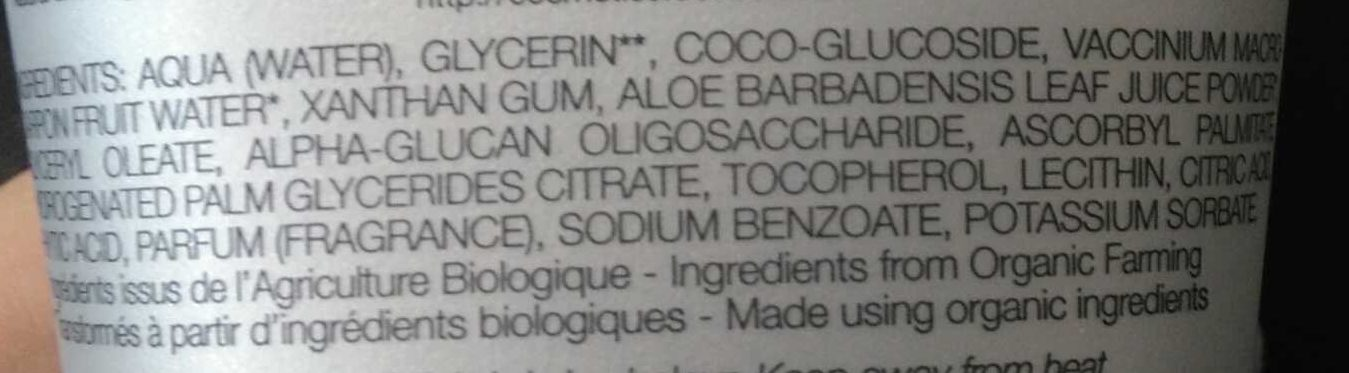 L'Intime - Ingredients - fr