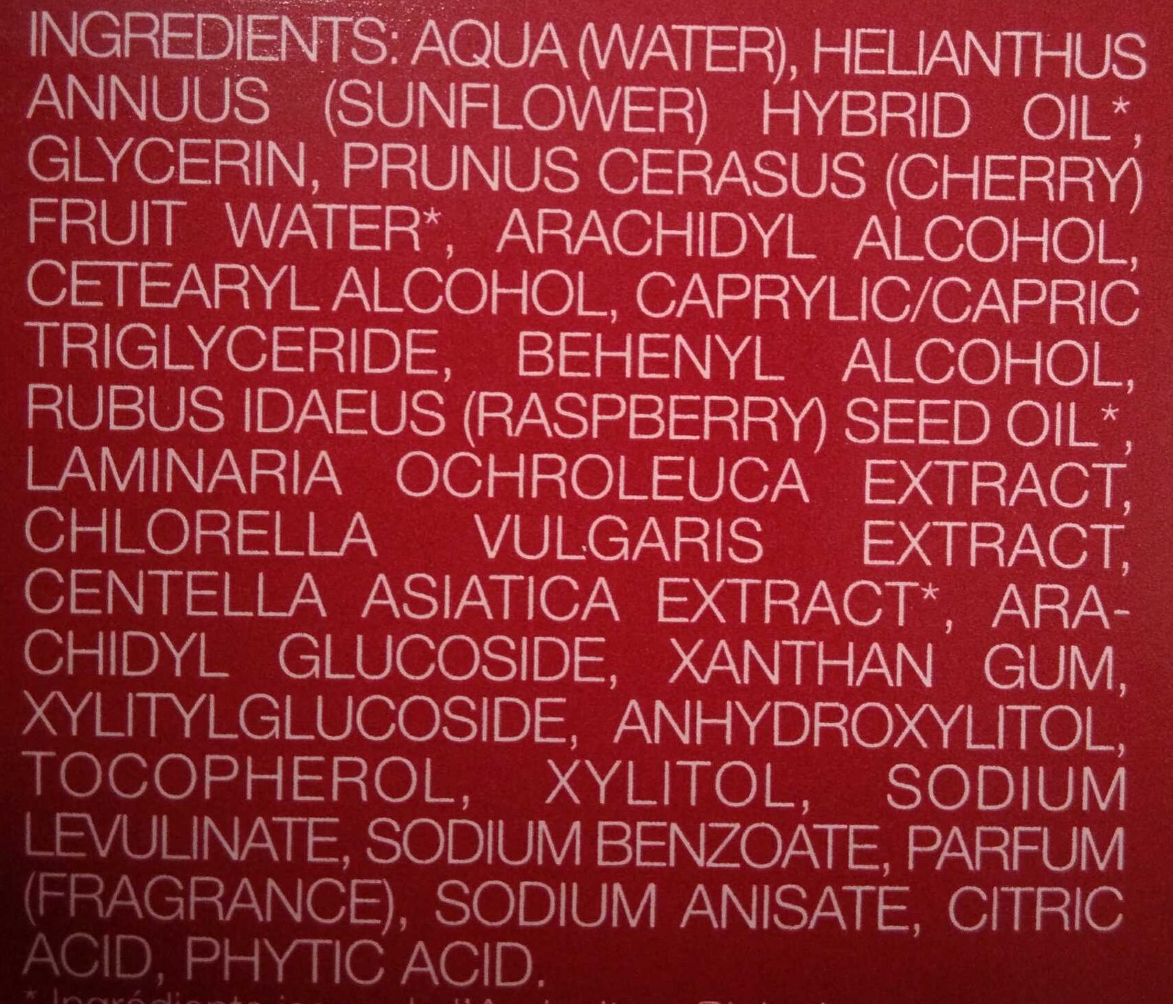 L'Expert - Ingredients - fr