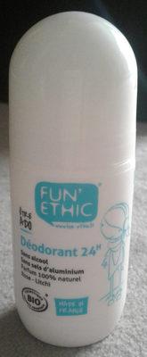 Déodorant 24 h - Product