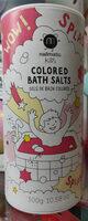 Sels de bain colorés rose - Produit - fr