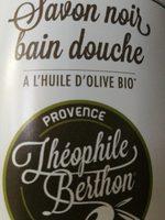 Savon noir bain douche à l'huile d'olive bio - Product