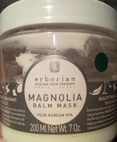 Masque visage sublimant au magnolia - Product - fr
