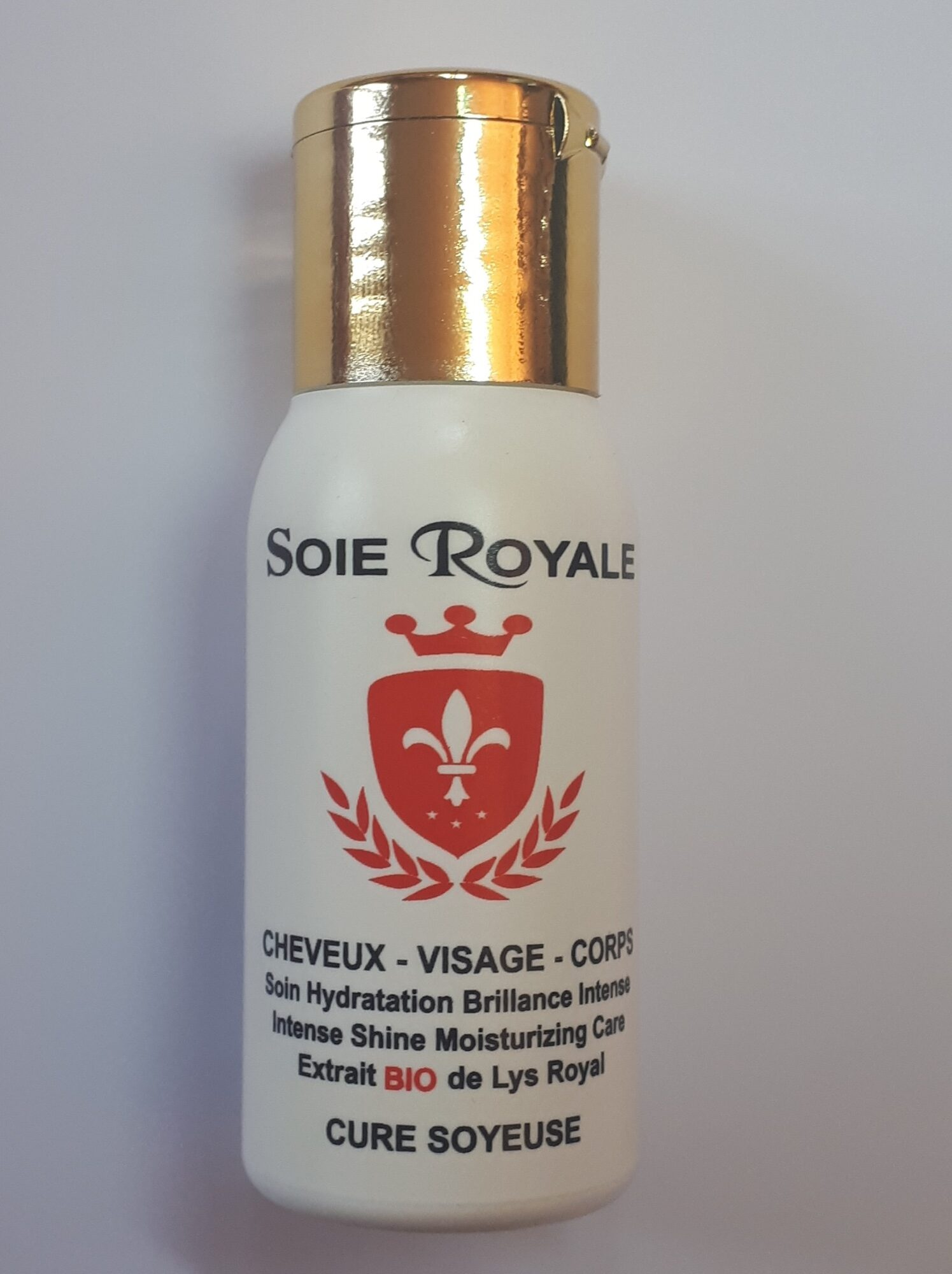 Soie royale BIO Cure Soyeuse - Ingredients