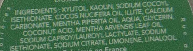 Crystal - Ingredients - fr