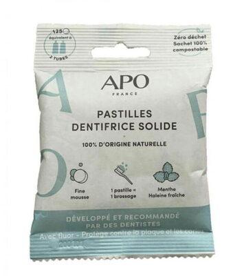 Pastilles Dentifrice solide - Product - fr