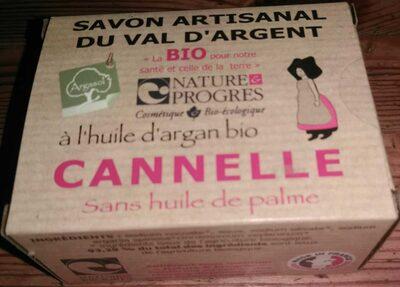 Savon artisanal du Val d'Argent à l'huile d'argan bio - Cannelle - Produit