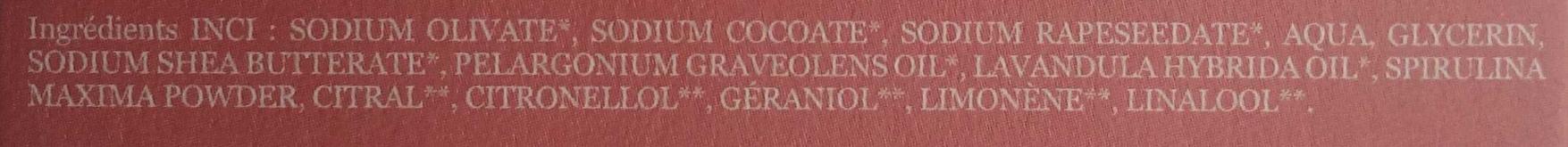 Géranium Lavande - Ingredients - fr