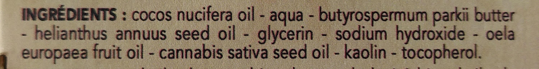 Savon à barbe sans parfum - Ingredients - fr