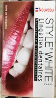 Lingettes dentaires - Product - fr