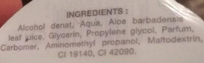 Gel mains propres pomme - Ingredients - fr