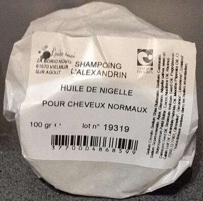 Shampoing l'Alexandrin - Huile de Nigelle - pour cheveux normaux - Produit - fr