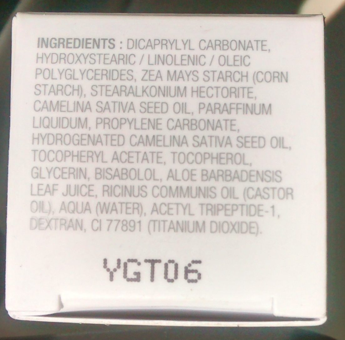 nexultra B - Ingredients