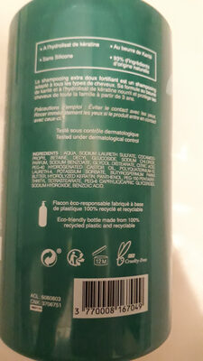 Shampoing extra doux - Ingredients - fr