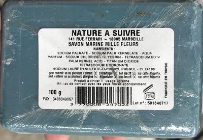 Savon Marine Mille Fleurs - Produit