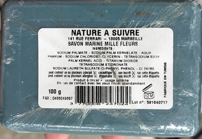 Savon Marine Mille Fleurs - Product - fr