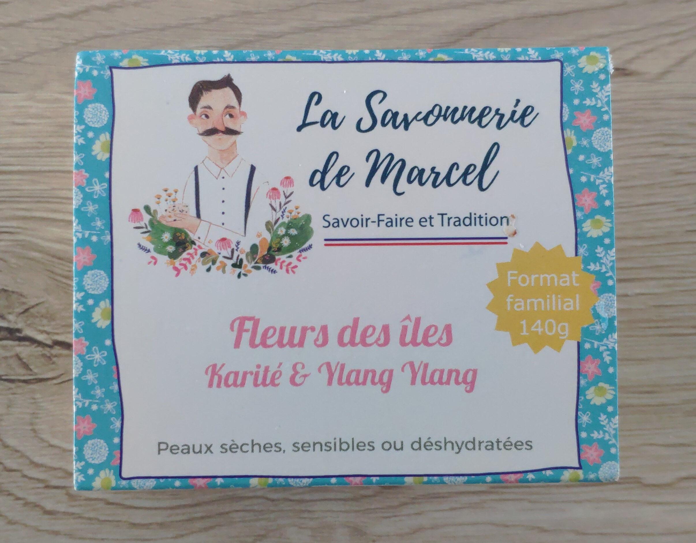 Savon Fleurs des îles - Karité & Ylang Ylang - Продукт - fr
