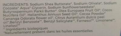 Savon Fleurs des îles - Karité & Ylang Ylang - Ингредиенты - fr