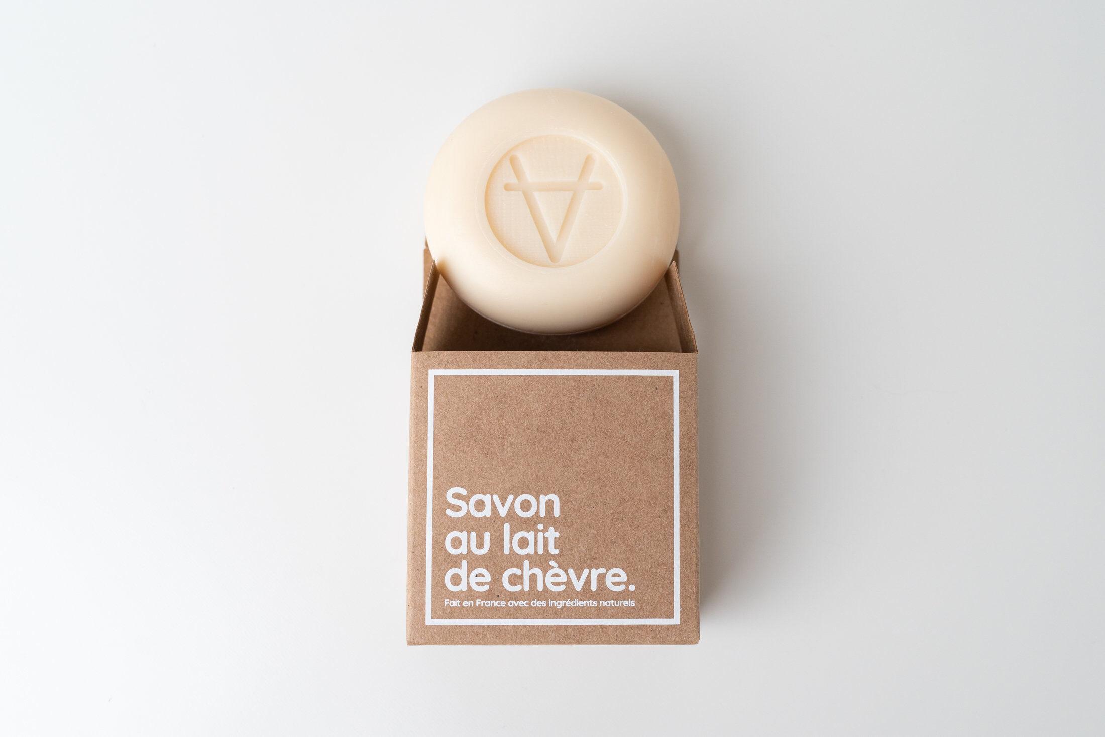 L'incontournable savon au lait de chèvre parfum rose - Product - fr