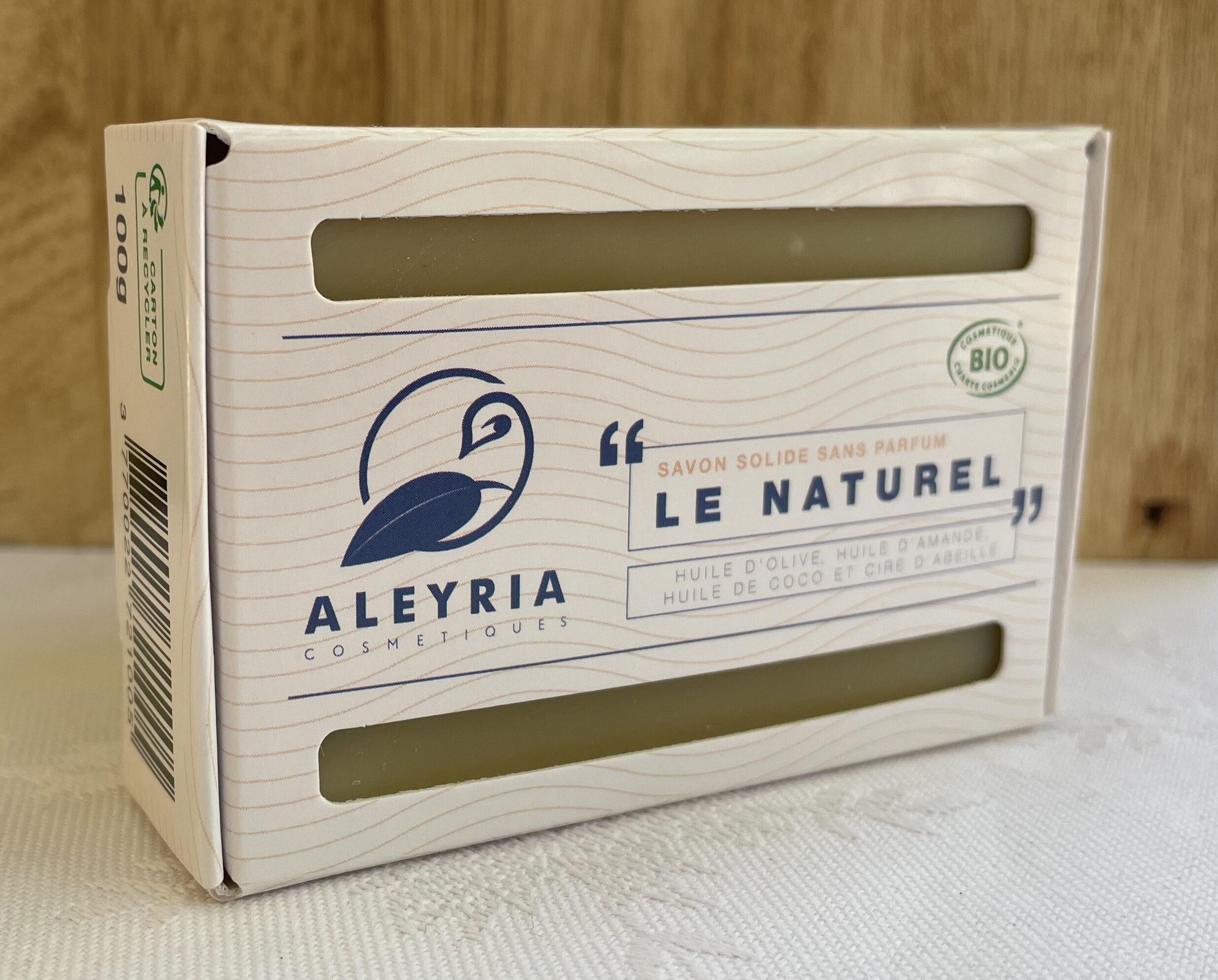 Savon solide Le Naturel - Aleyria Cosmétiques - Product - fr