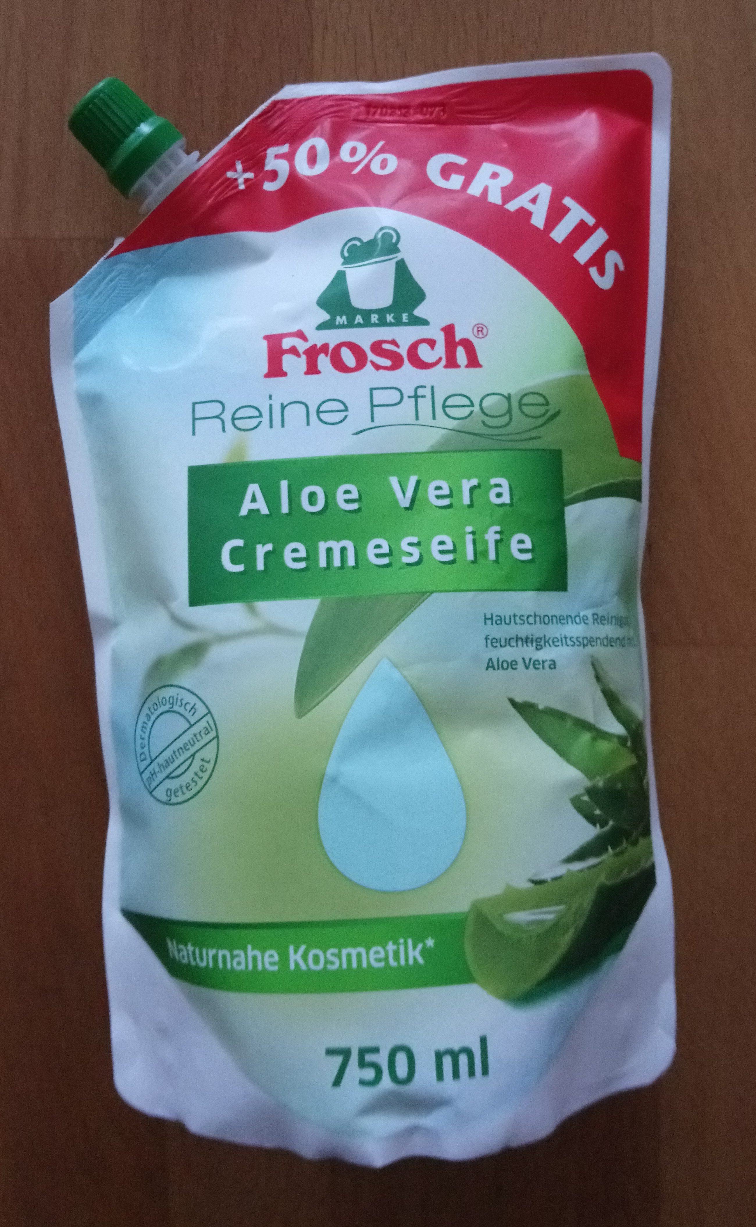 Aloe Vera Cremeseife - Product